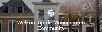 Bijeenkomst Monumenten Community