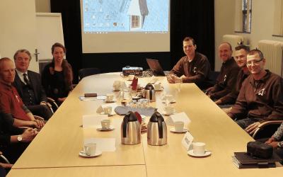 Bezoek commissaris van de Koning Wim van de Donk