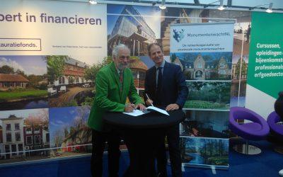 Monumentenwacht NL en Nationaal Restauratiefonds geven extra impuls aan samenwerking