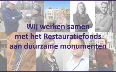 Vergoeding Nationaal Restauratiefonds keukentafelgesprek verduurzaming